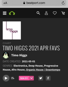 Timo Higgs Beatport charts